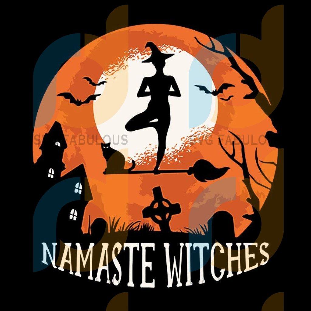 Namaste Witches Yoga Halloween