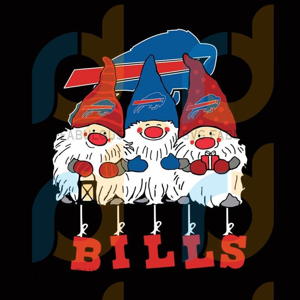 Gnomies BILLS Christmas svg
