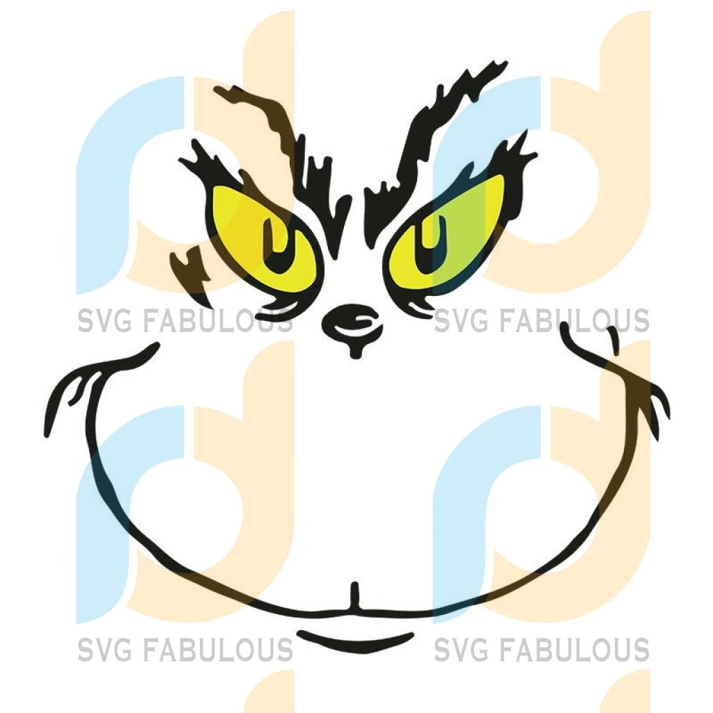 How The Grinch Stole Christmas Svg, Ornament Cut File in SVG