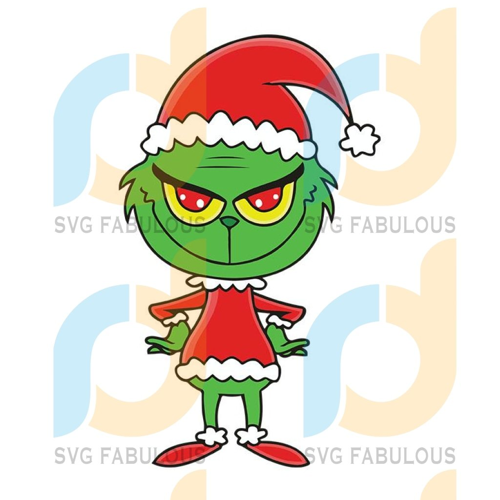Grinch Christmas Svg, Xmas The Grinch 5 Digital