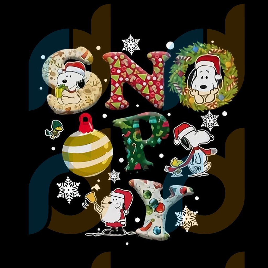 Peanuts Snoopy Christmas png, Snoopy Christmas Light png, Christmas Disney png, Charlie Brown Christmas png