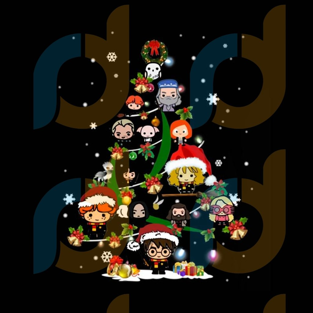 Harry Potter Christmas Tree png, merry xmas png, christmas png, christmas party, merry christmas png, christmas saying png, christmas clip art