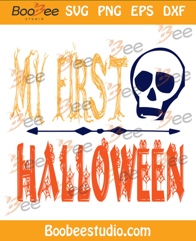 My First Halloween Skull Svg, Halloween Svg, First Halloween Svg