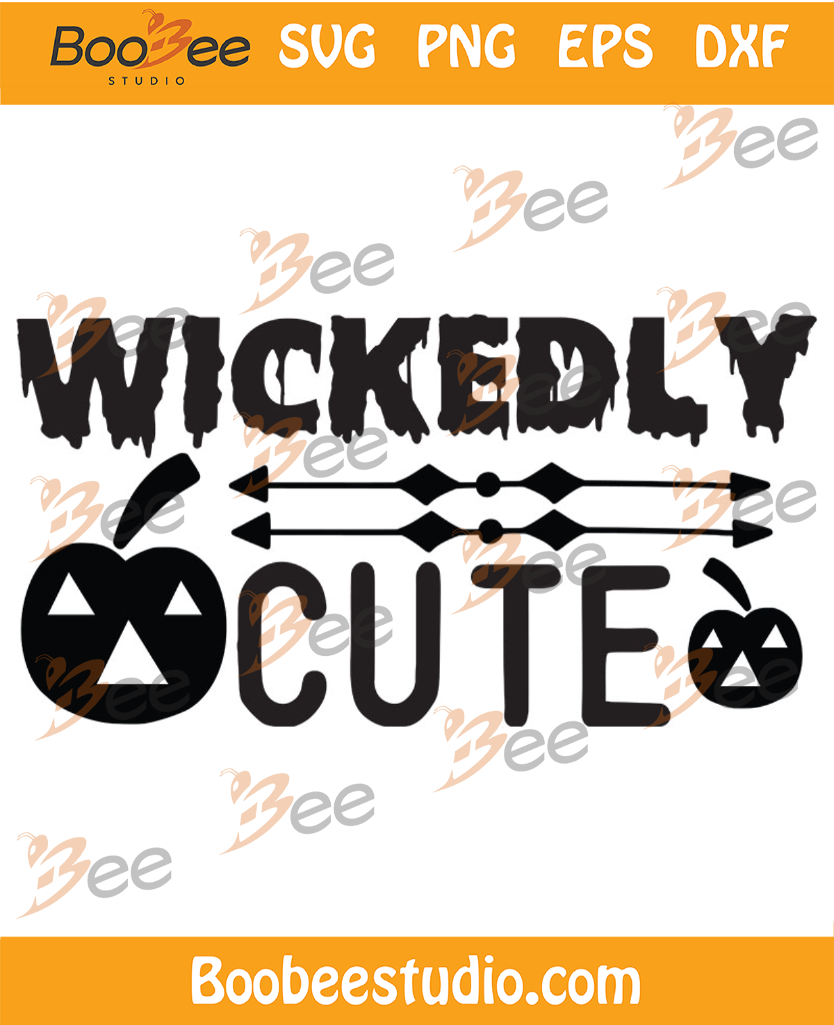 Wickedly Cute Svg, Halloween Svg, Halloween Wickedly Svg